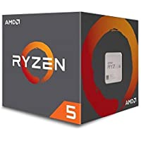 AMD Ryzen 5 1600 Six-Core 3.2GHz AM4 Desktop Processor