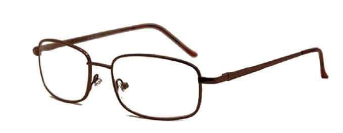 32af04a65a Amazon.com  Flexible Bifocal - Reading Glasses Look Smart - Brown ...