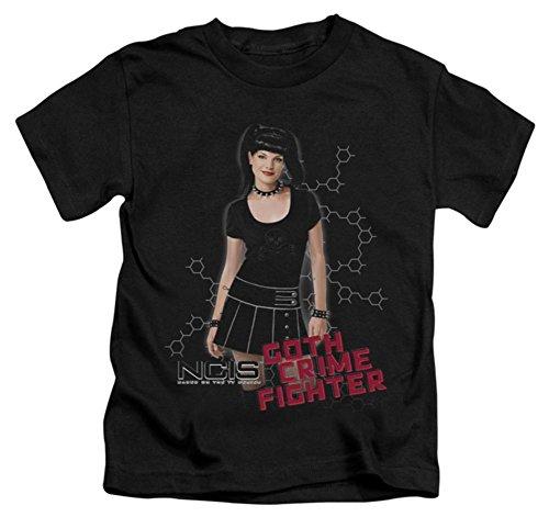 Juvenile: NCIS - Goth Crime Fighter Kids T-Shirt Size 7 Goth Crime Fighter