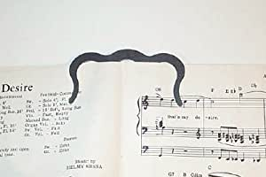 Music Book Clip or Page Holder