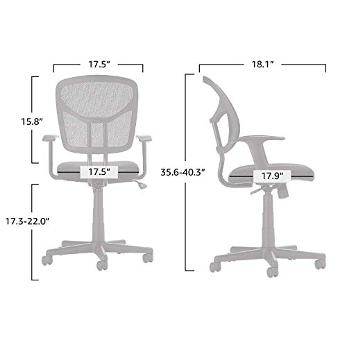 AmazonBasics Mid-Back Desk Office Chair image 6