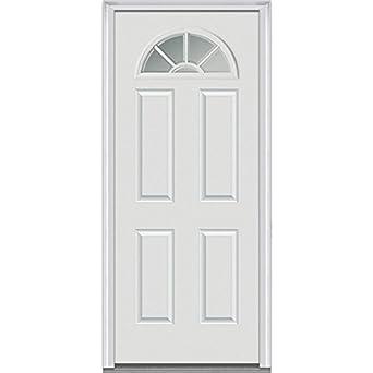 National Door Company Z000301R Fiberglass Smooth Primed  Right Hand  In swing  Prehung FrontNational Door Company Z000301R Fiberglass Smooth Primed  Right  . Front Door Prehung. Home Design Ideas