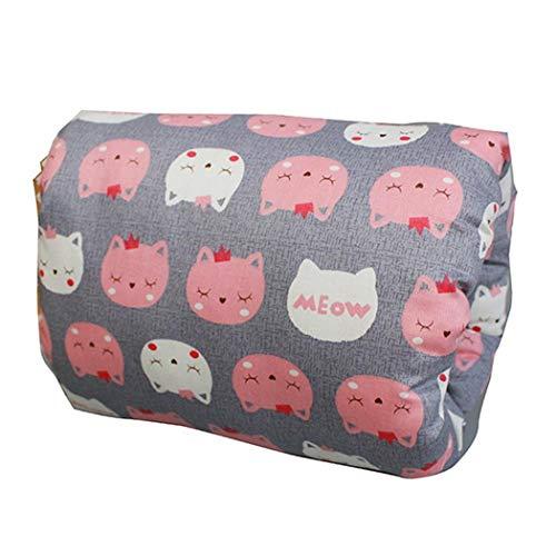 Eubell Baby Breastfeeding Pillow Slip On Ultra Soft Nursing Pillow Breathable and Lithe Infant Bottle Feeding Head Support for Newborn, Multi Use Arm Nursing Cushion for Travel