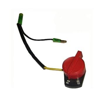 Beito ON Off Interruptor de Parada del Motor generador y Motor del Interruptor de paro Interruptor de Parada Motor Profesional para Honda GX120 GX160 ...