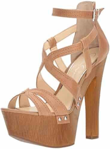 Jessica Simpson Women's Dorrin Heeled Sandal