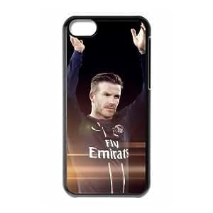Sports david bekham iPhone 5c Cell Phone Case Black 91INA91227577