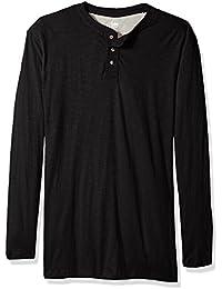 Men's Shirt Weekender Long Sleeve Casual Henley Regular...