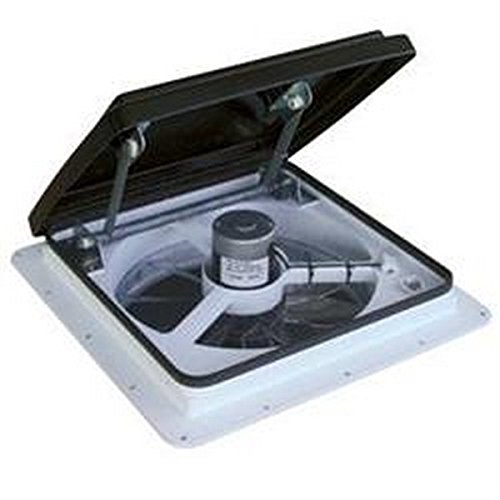 - RV Trailer MAXXAIR Vent Fan/Vent Model 4500K W/Remote Roof Vent