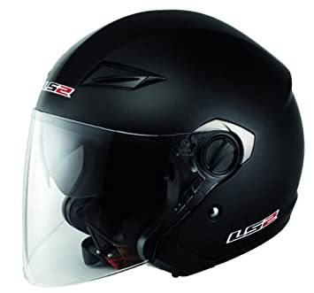 Jet Casco de LS2 of569 Track – Negro