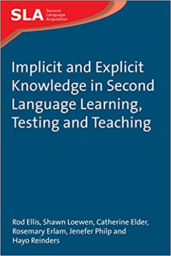 Amazon Implicit And Explicit Knowledge In Second Language