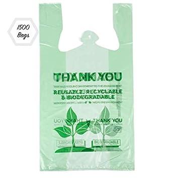 Bolsas de compras de plástico reutilizables y reciclables de 1500 ...