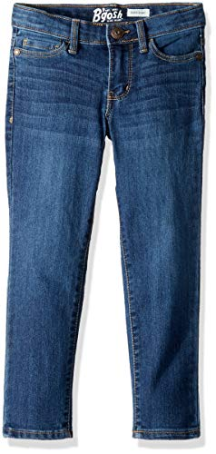 Osh Kosh Girls' Little Super Skinny Denim, Marine Blue, 14
