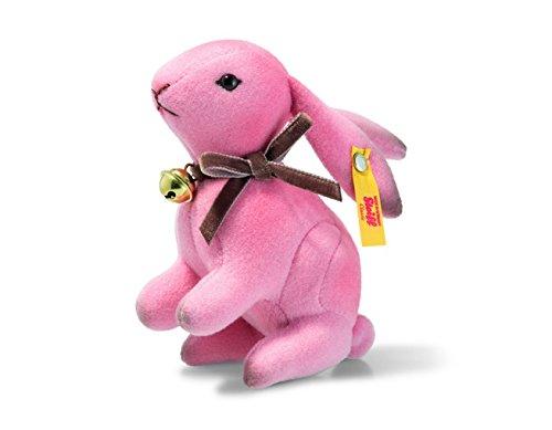 Steiff Rabbit Hazel Pink 11cm - 4 inches