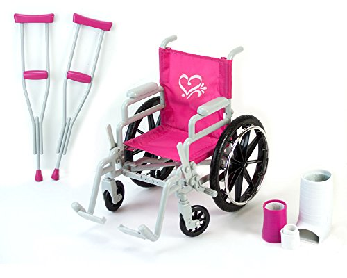 Sophia's Doll Wheelchair Set, 18-Inch from Sophia's