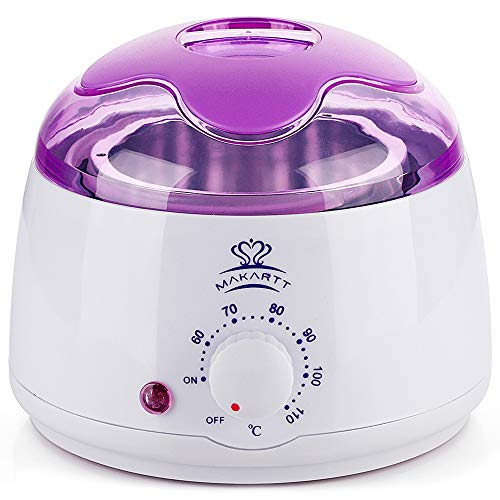 Makartt Hair Removal Machine Hard Hot Wax Warmer Melter Heater Electric Depilatory Waxing 14 oz ()