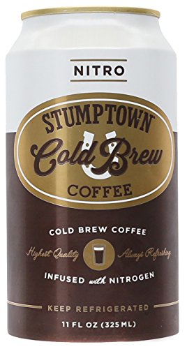 Stumptown Coffee Cold Go on Nitro, 11 oz