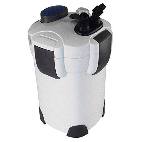 Giantex 200 GAL External Aquarium Tank Canister Filter 4-stage 530gph+9w Uv Sterilizer