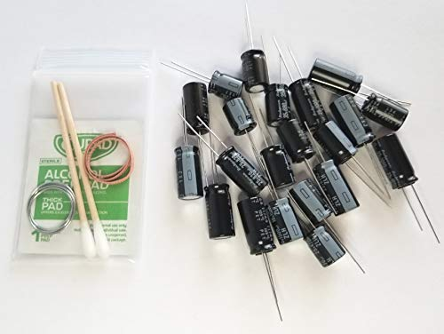Complete Capacitor Kit for Samsung Plasma & LCD TV Power Boards (1 pc. 220uF, 2 pc. 470uF, 4 pc. 680uF, 2 pc. 820uF, 7 pc 1000uF, 2 pc.1500uF, 2 pc. 2200 uF, 1 pc. 3300 uF)
