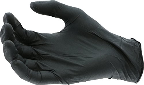 West Chester 2920 Industrial Grade Nitrile Disposable Gloves, 5 mil, Powder Free: Black, Small, Box of 100 by West Chester (Image #2)