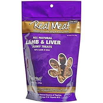 Amazon.com : Meaty Treats Lamb & Rice Jerky, Dog Snacks