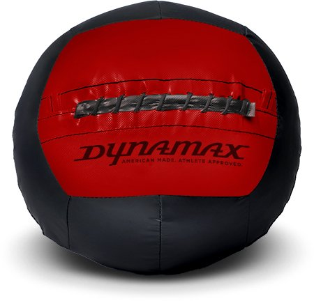 Dynamax 12lb Soft-Shell Medicine Ball Black/Red