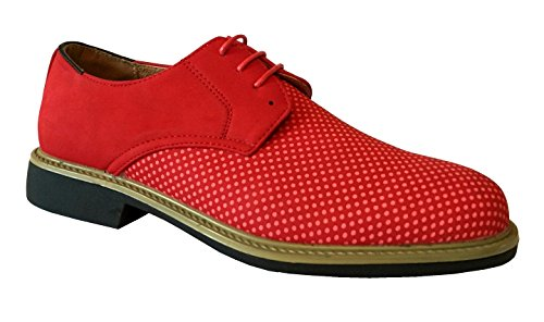 Mens Casual Slip-on Sneakers Oxfords Fashion Shoes Mocassini Rossi * Alan