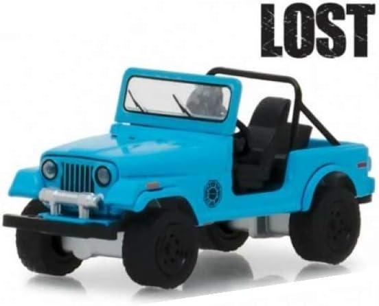 Lost Greenlight 44810F 1//64 1977 JEEP CJ-7 DHARMA TV SERIES