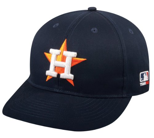 2013 Youth FLAT BRIM NeW LOGO Houston Astros Home NavyBlue Hat Cap MLB Adjustable Brim Logo Adjustable Hat