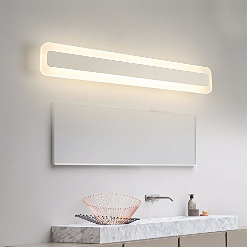 Badewanne Spiegel Lampen, minimalistischen modernen Badezimmer ...