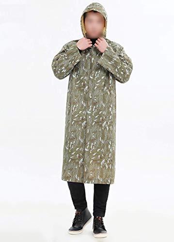 Da Donne Laisla Poncho Armee Classiche 100 Donna Impermeabile Moto grün Antipioggia Eva Pioggia Fashion wq4qBt