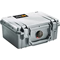 Pelican 1150 Camera Case With Foam (Silver)