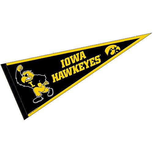 College Flags and Banners Co. Iowa Hawkeyes Herky Mascot 12