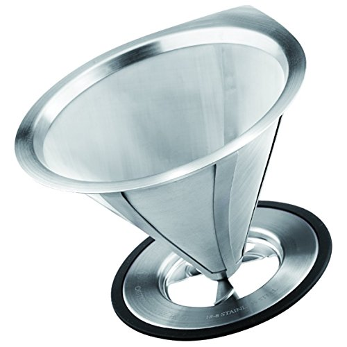 Grosche Ultra Mesh Ultra Fine Pour-Over Micro Filter Over Coffee -