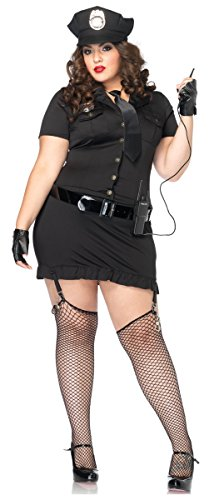 Plus Size Dirty Cop Costumes (Dirty Cop Adult Costume - Plus Size 1X/2X)