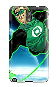 Durable Green Lantern Flying Dc Comics Outer Space Anime Other Back Case/cover For Galaxy Note 3