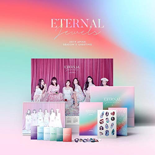 Plan A Entertainment APINK - 2019 APINK Season's Greetings Eternal Jewels Calendar+Photobook+Photocards+Extra Photocards Set