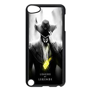 DIY Printed League of Legends hard plastic case skin cover For Ipod Touch 5 SN9V293442