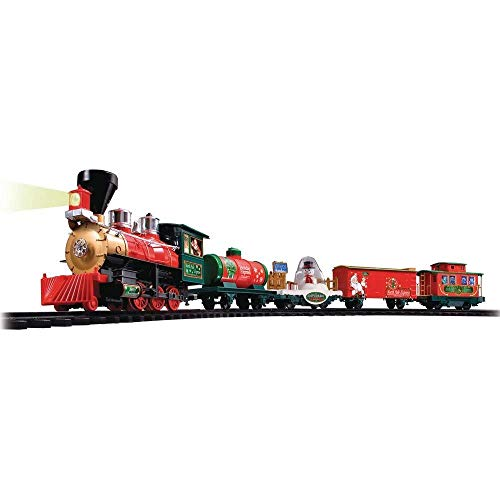 EZTEC 37299 Christmas Train North Pole Express w/ Remote Control ()