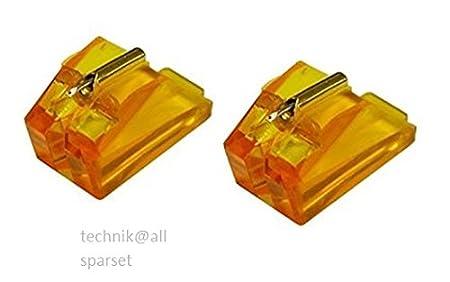 Technics EPS 24 CS - Aguja para Tocadiscos (Aguja de repuesto) 2 ...