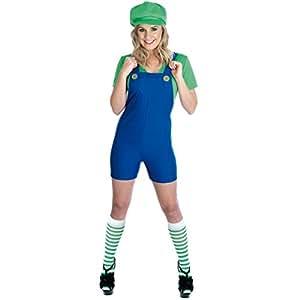 Mario and Luigi Ladies costume (disfraz)