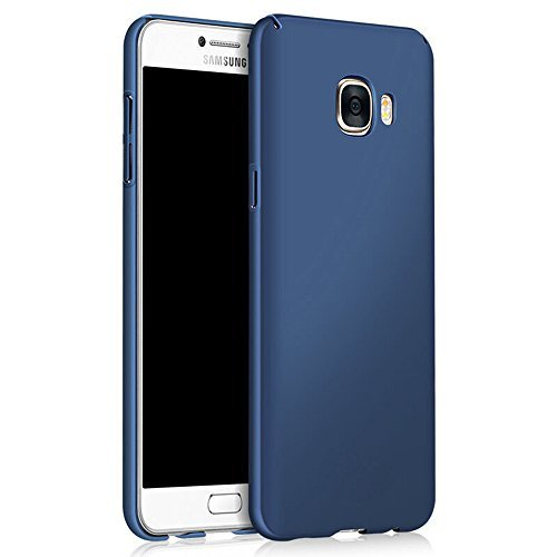 Galaxy S7 Case, Sincase [Non Slip] Ultra Thin Excellent Grip Samsung S7 Bumper [Scratch Resistant] Coated Hard PC Cover Skin for Samsung Galaxy S7, Blue