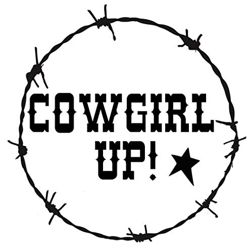 OutletBestSelling Stencil Cowgirl Up! Barbed Wire Border Western Country Rustic 7