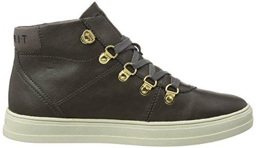 ESPRIT Sidney Bootie - zapatillas deportivas altas de material sintético mujer gris - Grau (025 brown grey)