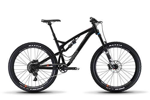 Diamondback Bicycles Release 3 Full Suspension Mountain Bike, Black, 15.5