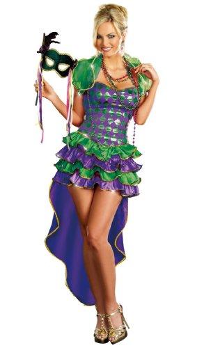 Dreamgirl Mardi Gras Maven, Purple, Small