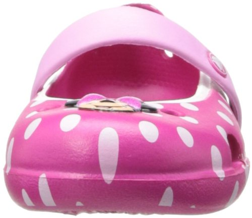 Crocs Keeley Minnie Flat (Toddler/Little Kid),Candy Pink/Carnation,11 M US Little Kid by Crocs (Image #4)