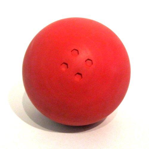 Boßelkugel aus Gummi (rot) Carls