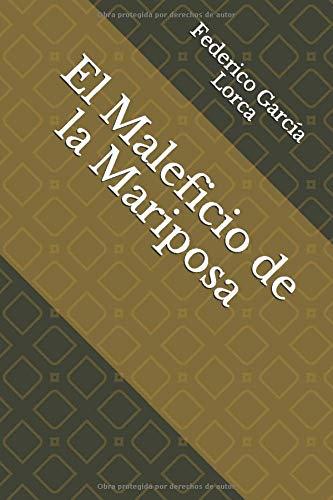 Libro : El Maleficio de la Mariposa  - Lorca, Federico ...