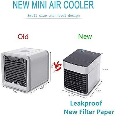 HXG Enfriador de Aire Aire Acondicionado portátil humidificador ...