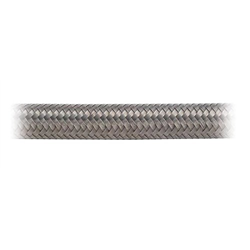 Earl's 310012 Auto-Flex HTE Stainless Steel Braid Protected -12AN by 10' Synthetic Rubber Hose by Earl's Performance (Image #1)